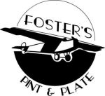 Foster's Pint and Plate